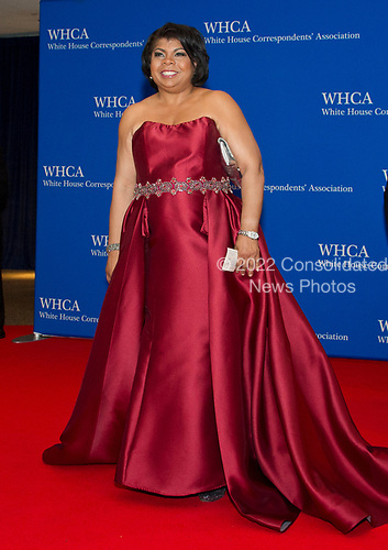 Washington bureau chief for American Urban Radio Networks April Ryan arrives for the 2017 White House Correspondents Association Annual Dinner at the Washington Hilton Hotel on Saturday, April 29, 2017.<br /> Credit: Ron Sachs / CNP