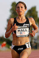 Sara Hall ran 16:33.62 in the 5000m run at the Adidas Track Classic 2009, held at the Home Depot Center, Carson,Ca. on Saturday, May 16, 2009. Photo by Errol Anderson, The Sporting Image.net