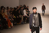 Tuesday, 8 January 2013. London, United Kingdom. Designer Christopher Shannon shows his Autumn/Winter 2013 collection at a catwalk show during London Collections: Men. Menswear fashion event which used to be part of London Fashion Week. Photo credit: CatwalkFashion/Alamy Live News