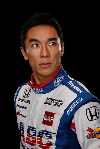 2 February, 2016, Indianapolis, Indiana USA<br /> Takuma Sato<br /> &copy;2016, Michael L. Levitt<br /> LAT Photo USA
