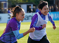20191027 - Boreham Wood: Player(s) is/are pictured during the Barclays FA Women's Super League match between Arsenal Women and Manchester City Women on October 27, 2019 at Boreham Wood FC, England. PHOTO:  SPORTPIX.BE | SEVIL OKTEM