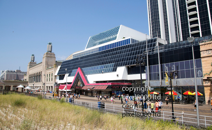 Pic shows: Trump Plaza Casino in Atlantic City. <br /> <br /> <br /> <br /> <br /> picture by Gavin Rodgers/ Pixel