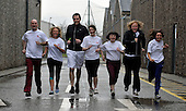 River City cast run Edinburgh marathon