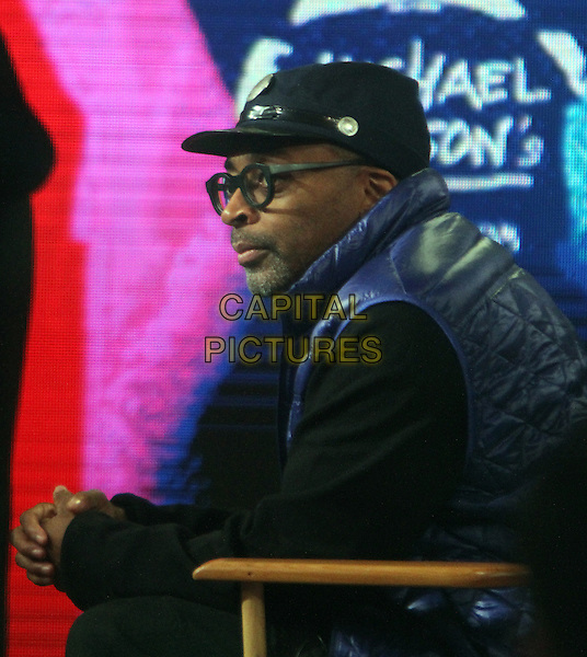 NEW YORK, NY - JANUARY 20: Spike Lee promotes his new Michael Jackson Documentary and refutes ever saying he was boycotting the Oscars during an appearance on Good Morning America on January 20, 2016 in New York City. <br /> CAP/MPI/RW<br /> &copy;RW/MPI/Capital Pictures