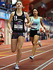 Shayna Arrigo of Sachem East competes in the girls 1,600 meter sprint medley relay during the New Balance Indoor Nationals at The Armory in New York, NY on Saturday, March 10, 2018.