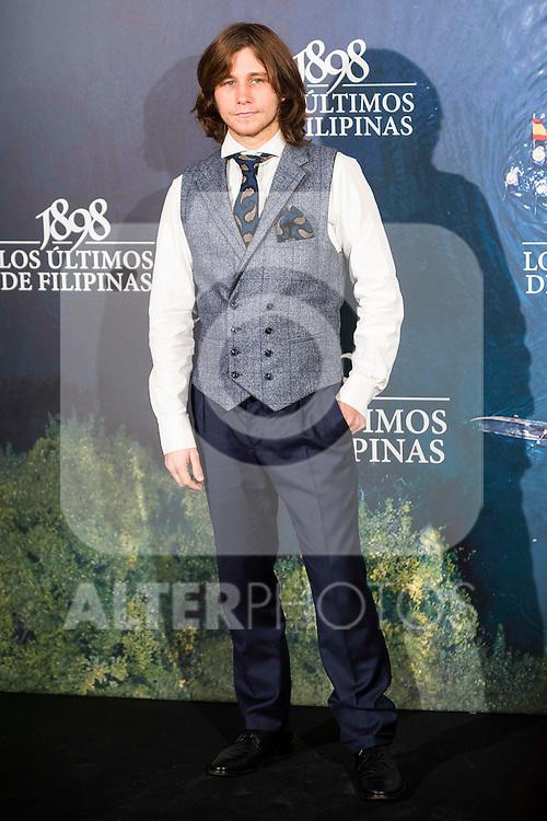 "Emilio Palacios attends to the presentation of the spanish film "" 1898. Los ultimos de Filipinas"" at Naval Museum in Madrid, Spain. November 28, 2016. (ALTERPHOTOS/BorjaB.Hojas)"