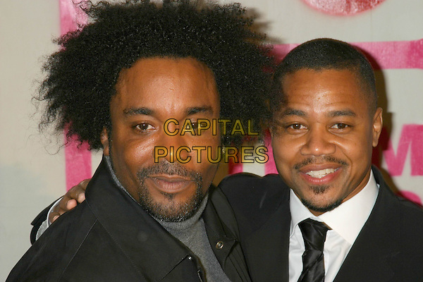 CUBA GOODING JR (R).The 14th Annual Gotham Awards, Pier 60, Chelsea Piers, New York City, New York, USA, 01 December 2004..portrait headshot.Ref: IW.www.capitalpictures.com.sales@capitalpictures.com.©Capital Pictures.