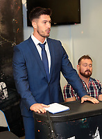 The 5 Star Wrestling press conference at the DSA Sheffield Arena, Sheffield, United Kingdom, 8th January 2018. Photo by Glenn Ashley.