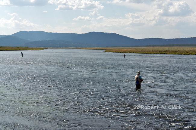 Harriman Wildlife Refuge on the Henry's Fork, Last Chance, Idaho