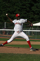 July 13, 2003:  Carl Primus of the Jamestown Jammers during a game at Russell Diethrik Park in Jamestown, New York.  Photo by:  Mike Janes/Four Seam Images
