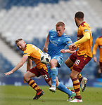 Adam Rooney with Allan Campbell and Charles Dunne