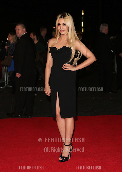 Zara Martin at the 56th BFI London Film Festival: Argo - Accenture gala, held at the Odeon Leicester Square. 17/10/2012 Picture by: Henry Harris / Featureflash