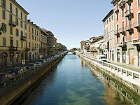 Italy, Italia, Milano, Navigli, Porta Ticinese