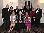 Fr Jim Dunleavy with members of the O.N.E. at the Dominican Ball in the Westcourt hotel. Photo:Colin Bell/pressphotos.ie