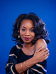 LOS ANGELES, CA - March 3: Anika Noni Rose plays the character Kizzy in History Channel's new adaptation of Alex Haley's 1977 miniseries of the same title, chronicling the history of an African slave sold to America and his descendants. (Photo by Brinson+Banks)