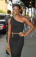 NEW YORK CITY,NY - August 08, 2012:  Montego Glover at The Magnolia Pictures screening of 2 Days in New York at The Landmark Sunshine Cinema in New York City. &copy; RW/MediaPunchInc.. /Nortephoto.com<br />