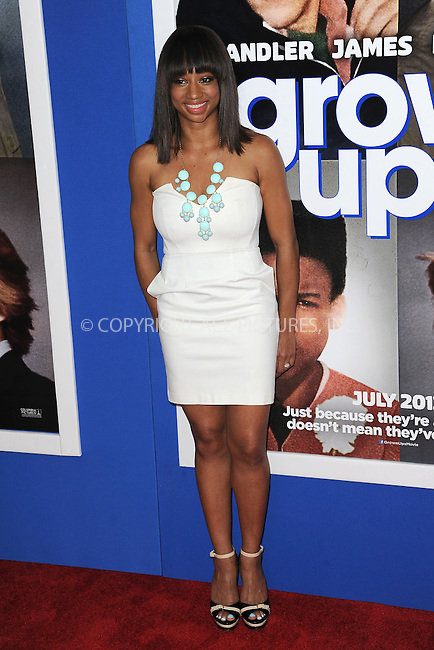 WWW.ACEPIXS.COM<br /> July 10, 2013...New York City <br /> <br /> Monique Coleman attending the Columbia Pictures New York Screening of &quot;Grown Ups 2&quot;  at AMC Loews Lincoln Square on July 10, 2013 in New York City.<br /> <br /> Please byline: Kristin Callahan... ACE<br /> Ace Pictures, Inc: ..tel: (212) 243 8787 or (646) 769 0430..e-mail: info@acepixs.com..web: http://www.acepixs.com