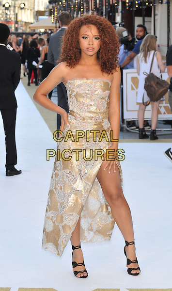 LONDON, ENGLAND - JUNE 30: Alexis Jordan attends the &quot;Magic Mike XXL&quot; UK film premiere, Vue West End cinema, Leicester Square, on Tuesday June 30, 2015 in London, England, UK. <br /> CAP/CAN<br /> &copy;CAN/Capital Pictures