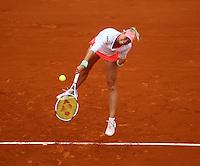 ANDREA HLAVACKOVA (CZE)<br /> <br /> Tennis - French Open 2015 -  Roland Garros - Paris -  ATP-WTA - ITF - 2015  - France <br /> <br /> &copy; AMN IMAGES
