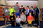 Finalists, Semi finalists and Winners with their coaches at Drogheda Boxing Club, Moneymore..Photo NEWSFILE/Jenny Matthews..(Photo credit should read Jenny Matthews/NEWSFILE)