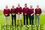 Kerry Federation Golf Sheild: The Ballybunion GC team that took part in the Kerry Federation Golf Sheild at Ballybunion Golf club on Saturday last. L-R: Pat Sullivan , John O'Halloran, Donal Kearney, Pardaig Harrington, Tom Wall, Captain Ballybunion GC & Brendan Stack.