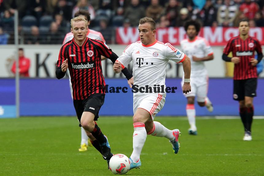 Xherdan Shaqiri (Bayern) gegen Sebastian Rode (Eintracht)