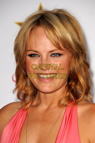 MALIN AKERMAN.The Akvinta Presents A Night of Hollywood Domino Party at The House at Cannes during the 62nd International Cannes Film Festival, Cannes, France..May 18th, 2009 .headshot portrait ackerman pink.CAP/CAS.©Bob Cass/Capital Pictures.