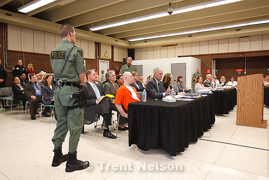 Trent Nelson     The Salt Lake Tribune.Draper - Commutation hearing for death-row inmate Ronnie Lee Gardner Thursday, June 10, 2010, at the Utah State Prison.