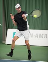 Rotterdam, Netherlands, Januari 28, 2017, ABNAMROWTT, Supermatch, Romano Frantzen<br /> Photo: Tennisimages/Henk Koster