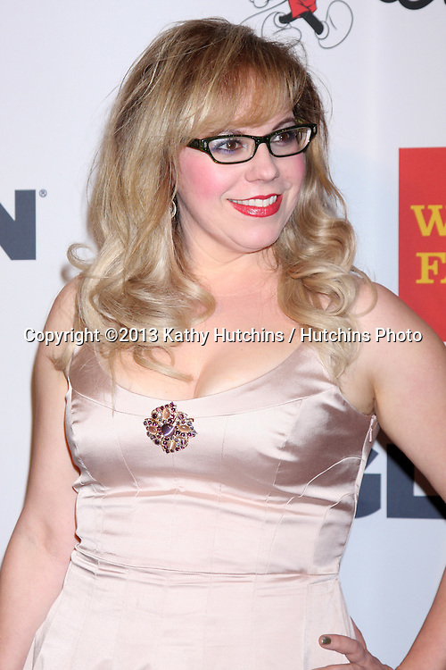 LOS ANGELES - OCT 18:  Kirsten Vangsness at the 2013 GLSEN Awards at Beverly Hills Hotel on October 18, 2013 in Beverly Hills, CA