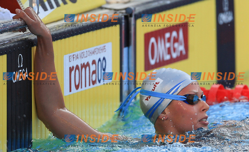 Roma 26th July 2009 - 13th Fina World Championships From 17th to 2nd August 2009.400 m Freestyle Women's.Federica Pellegrini ITA .Gold Medal and new W.R.. photo: Roma2009.com/InsideFoto/SeaSee.com