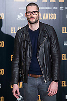 "Sergio Mur attends to the presentation of the film ""El Aviso"" at URSO Hotel in Madrid , Spain. March 19, 2018. (ALTERPHOTOS/Borja B.Hojas) /NortePhoto.com"