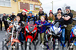 At the slow bike race Fundraiser for Cian Lenihan who is been treated for leukaemia at The Railway Bar Lixnaw on Saturday last L-r Oisin Murphy Mulvihill, Liam Coonihan, Jackie McElligott Leona Flynn, Colm Farmer, Eileen O Flaherty Noah Foley, Paul O Sullivan, John Mex Lenihan, (Grandad of Cian).