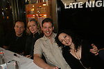 Broadway's Danny Burnstein, Rebecca Lucker, Kevin Spritas, Bebe Neuwirth at 22nd Annual Broadway Flea Market & Grand Auction to benefit Broadway Cares/Equity Fights Aids on Sunday, September 21, 2008 in Shubert Alley, New York City, New York. (Photo by Sue Coflin/Max Photos)