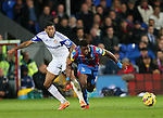Crystal Palace's Wilfred Zaha tussles with Sunderland's Patrick Van Aanholt<br /> <br /> - Barclays Premier League - Crystal Palace vs Sunderland- Selhurst Park - London - England - 3rd November 2014  - Picture David Klein/Sportimage