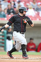 May 15, 2010: Matt Adams of the Quad City River Bandits at Elfstrom Stadium in Geneva, IL. The River Bandits are the Class A affiliate of the St. Louis Cardinals. Photo by: Chris Proctor/Four Seam Images
