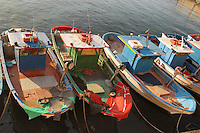 - Puglia, gallipoli, barche da pesca ormeggiate<br /> <br /> - Apulia, gallipoli, fishing boats moored