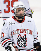 Alex Tuckerman (Northeastern - 27) - The visiting St. Francis Xavier University X-Men defeated the Northeastern University Huskies 8-5 on Sunday, October 2, 2011, at Matthews Arena in Boston, Massachusetts.