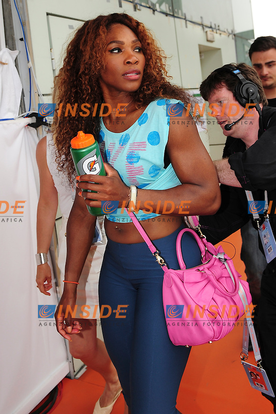 Serena Williams (usa) <br /> Parigi 8/6/2013<br /> Tennis Roland Garros <br /> Foto Panoramic / Insidefoto<br /> ITALY ONLY