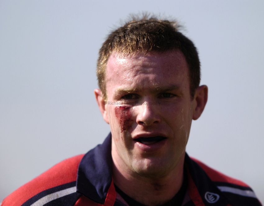 Photo. Richard Lane. .Munster v London Wasps. Heineken Cup Semi Final. 25/04/2004..John Kelly.