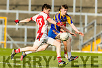 Patrick Clifford Kenmare in action against John Moynihan Rathmore in the Senior County Football Semi Final in Fitzgerald Stadium on Sunday.