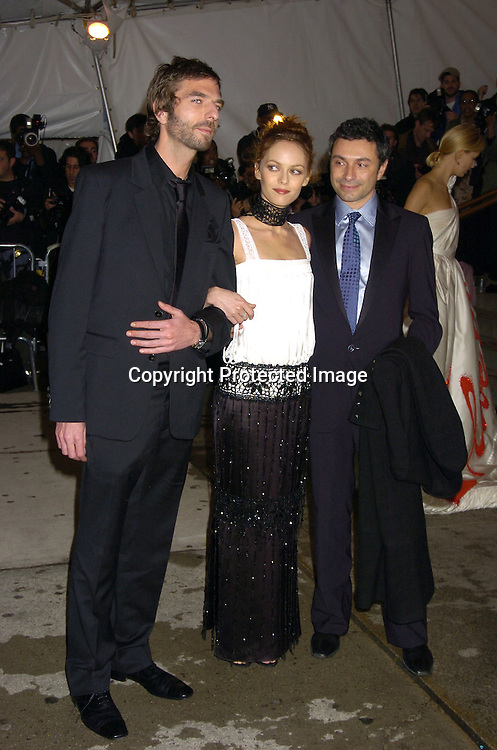 Vanessa Paradis and guests..at The Metropolitan Museum of Art's Costume Institute Gala ..celebrating Chanel on May 2, 2005 in New York City.    Photo by Robin Platzer, Twin Images