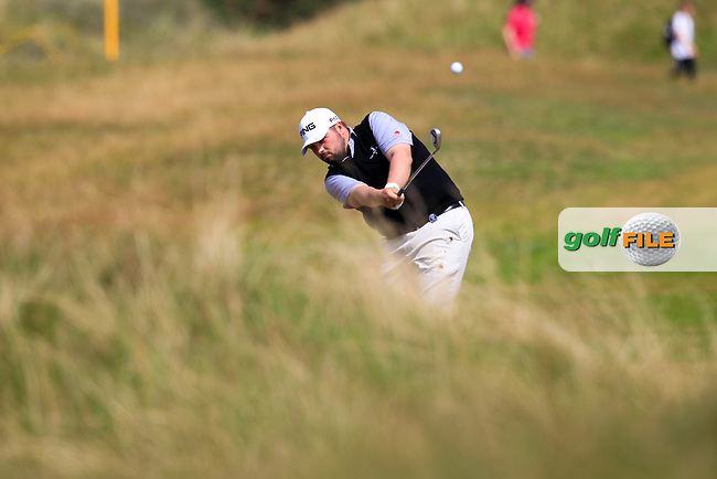 Kent Bulle (USA) on the 2nd during round 3 of The Open Championship 146th Royal Birkdale, Southport, England. 22/07/2017.<br /> Picture Fran Caffrey / Golffile.ie<br /> <br /> All photo usage must carry mandatory copyright credit (&copy; Golffile | Fran Caffrey)