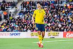 ****BETALBILD**** <br /> Stockholm 2015-04-08 Fotboll Landskamp Damer , Sverige - Danmark :  <br /> Sveriges Lotta Schelin deppar efter ett avslut mot m&aring;l under matchen mellan Sverige och Danmark <br /> (Photo: Kenta J&ouml;nsson) Keywords:  Sweden Sverige Denmark Danmark Landskamp Dam Damer Tele2 Arena Stockholm depp besviken besvikelse sorg ledsen deppig nedst&auml;md uppgiven sad disappointment disappointed dejected