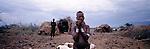 Turkana woman, Northern Turkana, Kenya