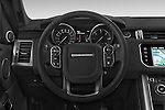 Car pictures of steering wheel view of a 2015 Land Rover RANGE ROVER SPORT HSE Dynamic 5 Door SUV Steering Wheel
