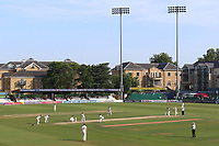 General view of play late in the day during Essex CCC vs Warwickshire CCC, Specsavers County Championship Division 1 Cricket at The Cloudfm County Ground on 20th June 2017
