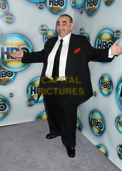 Ken Davitian.HBO 2012 Golden Globe Awards Post Party held at Circa 55 Restaurant, Beverly Hills, California, USA..January 15th, 2012.globes full length black suit white shirt hands arms.CAP/ADM/BP.©Byron Purvis/AdMedia/Capital Pictures.