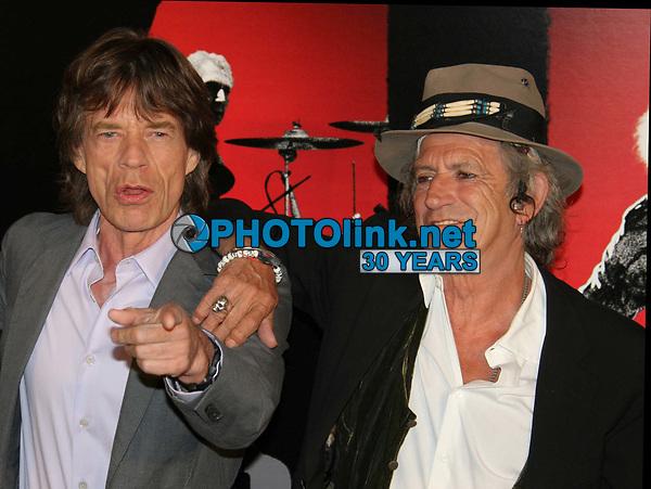 Mick Jagger Keith Richards 3-30-2008<br /> Photo By John Barrett/PHOTOlink.net