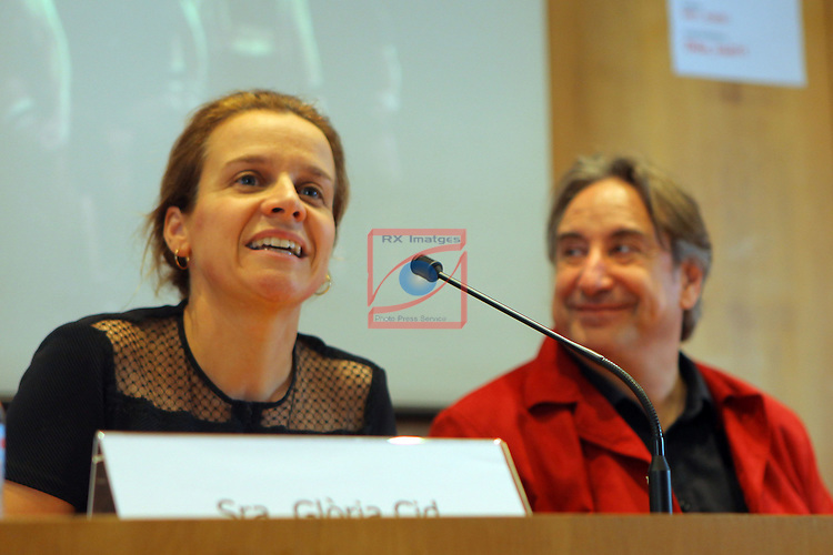 XXII Premis de Teatre de Catalunya.<br /> Presentacio Nominacions Premis Butaca 2016.<br /> Gloria Cid &amp; Juanjo Puigcorbe.